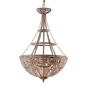 Elk Lighting Elizabethan 5825965-49 27 4 Light Pendant, Dark Bronze