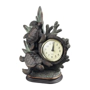 Sterling Industries 58293-100769 Swimming Turtle Wall Clock, Cream Face