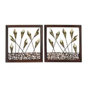 Sterling Industries 582138-012-S29 Delph - Set of 2 Wall Decor, 16H x 16W