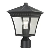 Elk Lighting Ridgewood 5828411EP-659 14.5 1 Light Post Mount, Matte Textured Black