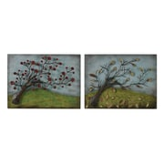 Sterling Industries Autumn and Spring - Set of 2 Wall Decor, 15H x 20W