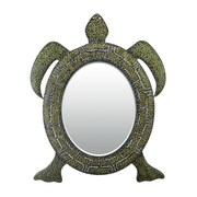 """Sterling Industries 58251-8076M9 41""""H x 28""""W Reflecting Tortoise Novelty Wall Mirror"""