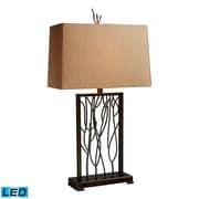 "Dimond Lighting Belvior Park 582D1518-LED9 33"" Table Lamp, Aria Bronze/Iron"
