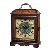 Sterling Industries 582118-0089 Green Butterfly Desk Clock, Beige Face