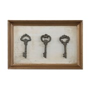 "Sterling Industries 582128-10219 ""Reproduction Keys"" Wall Decor, 15""H x 10""W"