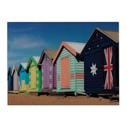 "Sterling Industries ""Beach Hut"" Wall Art, 25""H x 32""W"
