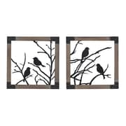 "Sterling Industries 582137-018-S29 ""Ollerton - Set of 2"" Wall Decor, 14""H x 14""W"