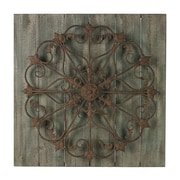 Sterling Industries 58226-86809 Meridian Metal Scroll Wall Decor, 30H x 30W