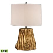 """Dimond Lighting Solihul 582D2494-LED9 24"""" Table Lamp, Antique Gold"""