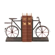 Sterling Industries 58251-38579 Set of 2 Bicycle Decorative Bookends, Bronze