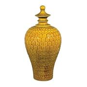 Sterling Industries 582152-0149 Chartreuse Glazed Jar, Medium