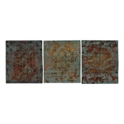 Sterling Industries 582138-059-S39 Colony Woven - Set of 3 Wall Decor, 14H x 14W