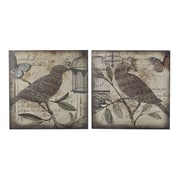 "Sterling Industries 582129-1112-S29 ""Beleden - Set of 2"" Wall Decor, 22""H x 22""W"
