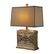 "Dimond Lighting Laurel Run 582D14439 25"" Incandescent Table Lamp, Courtney Gold"