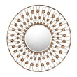 "Sterling Industries Airdrie 582138-1009 36""Dia Round Wall Mirror"