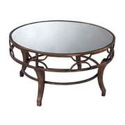 Sterling Industries 58260437289 20 Antiqued Gold Wash Coffee Table