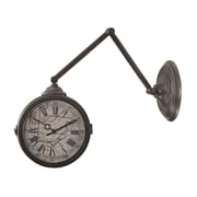 Sterling Industries 582138-0949 New York Subway Double Faced Wall Clock, Beige Face