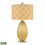 Dimond Lighting Sevenoakes 582D2498-LED9 25 Table Lamp, Sunshine Yellow