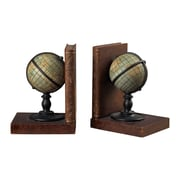 Sterling Industries 58293-92249 Set of 2 Atlas Decorative Bookends, Bronze