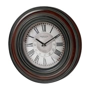 Sterling Industries 582130-0059 Mahogany Hand Painted Frame Large Frame Wall Clock, White Face