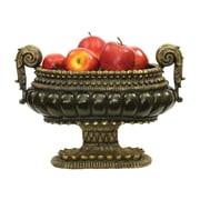 Sterling Industries 58291-12609 Gold Composite Decorative Bowl