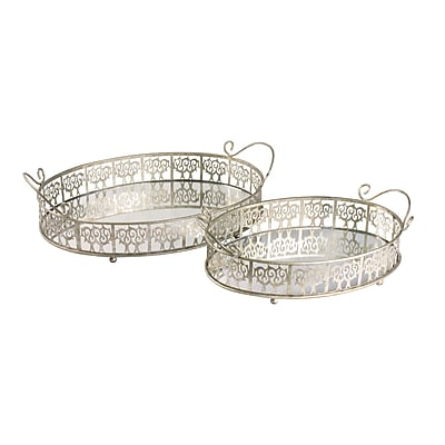Sterling Industries 58251-01489 Lasko Mirror Trays Set of 2 1397118