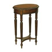 "Sterling Industries 58288-16049 28"" Oval Collins Chairside Table, Dark Walnut"