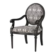 Sterling Industries Industries 582139-0029 Silver/Gray/Antique Black Arm Chair