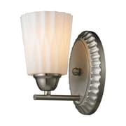 Elk Lighting Waverly 58211405-19 8 x 5 1 Light Vanity, Brushed Nickel