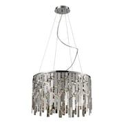 Elk Lighting Kingshill 58282035-99 14 9 Light Pendant, Chrome