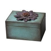 Sterling Industries English Garden 582129-10159 Purple Wood Box