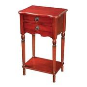 "Sterling Industries 58265000059 29"" Rectangle Kingsburg Side Table, Walnut"