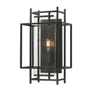 "Elk Lighting Intersections 58214200-19 16"" x 10"" 1 Light Wall Sconce, Oil Rubbed Bronze"