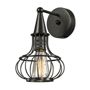 "Elk Lighting Yardley 58214190-19 11"" x 7"" 1 Light Wall Sconce, Oil Rubbed Bronze"
