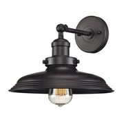 "Elk Lighting Newberry 58255040-19 9"" x 11"" 1 Light Armed Sconce, Oil Rubbed Bronze"