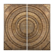 "Sterling Industries 582138-133-S29 ""Lymington Abstract Wall Decor - Set of 2"", 36""H x 18""W"