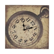 Sterling Industries 58253-85019 Wall Clock, Beige Face