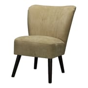 Sterling Industries Industries 582133-0089 Dark Mahogany/Cream Accent Chair