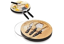 NFL Licensed Engraved Ventana Cheese Board Sets, Assorted Teams