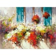 Yosemite Home Decor Canvas Window Box Acrylic Painting 36in. x 48in.