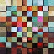 Yosemite Home Decor Wood Cubic Movement Acrylic Painting 40in. x 40in.