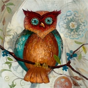 Yosemite Home Decor Canvas Owl I Acrylic Painting 24 x 24