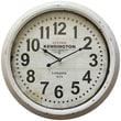 Yosemite Home Decor 23.5in. x 23.5in. Metal Oversized Wall Clock