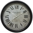 "Yosemite Home Decor 24.5"" x 24.5"" Metal Analog Clock"