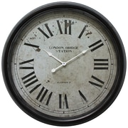 Yosemite Home Decor 24.5 x 24.5 Metal Analog Clock