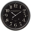 Yosemite Home Decor 24.5in. x 24.5in. Metal Wall Clock