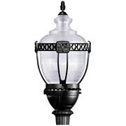 "Yosemite Home Decor 37.75"" x 16.4"" Steel Commercial Street Lamp"