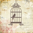 Yosemite Home Decor Postage Stamp Linen Print Artwork, Caged Whimsy I