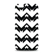 Centon OTM™ Black on White Collection White Glossy Case For iPhone 6, Herringbone