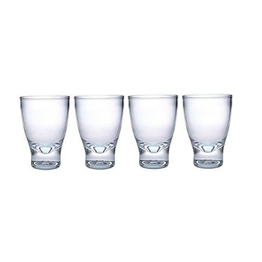 Chenco Inc. 10 Oz. Contemporary Tumbler (Set of 4)